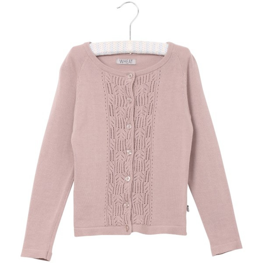Wheat Strikket Cardigan Annelie darkpowder