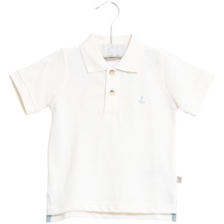 Wheat Bluzka Polo Anchor white