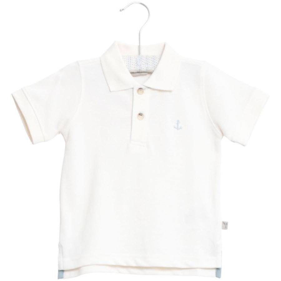 Wheat Maglietta Polo Anchor bianco