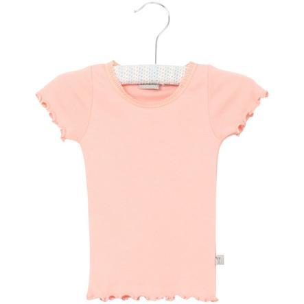 Wheat Rib T-Shirt Lace blossom small