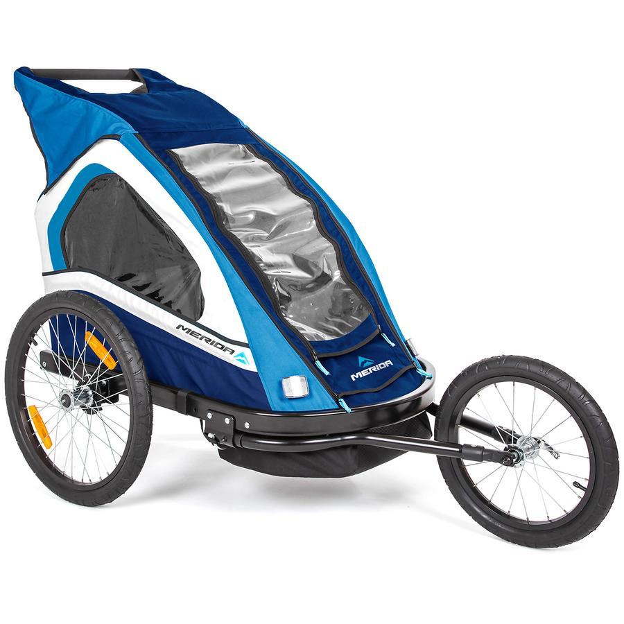 MERIDA Cykelvagn Sedan Duo blå