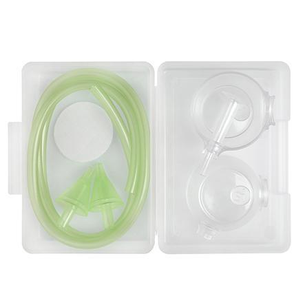 Nosiboo Family Pack - náhradní díly k elektronické odsávačce Nosiboo zelené