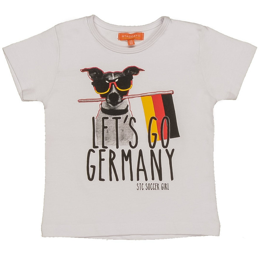STACCATO Girl s Mini T-Shirt blanc