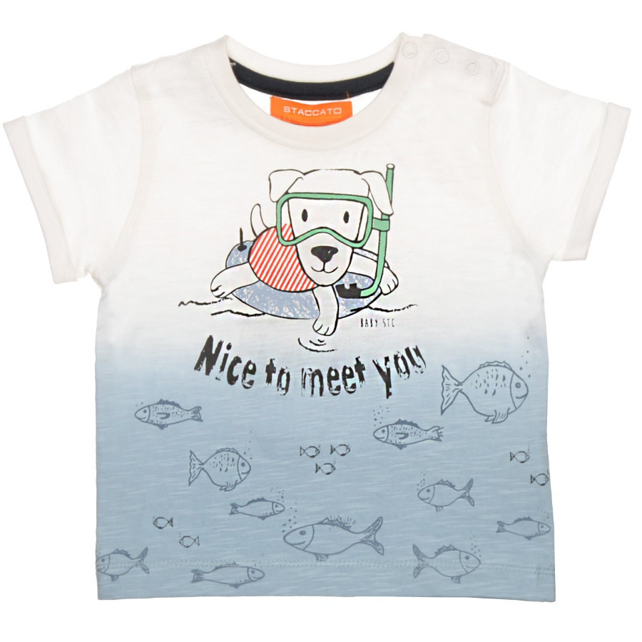STACCATO Boys Baby T-Shirt deep sky