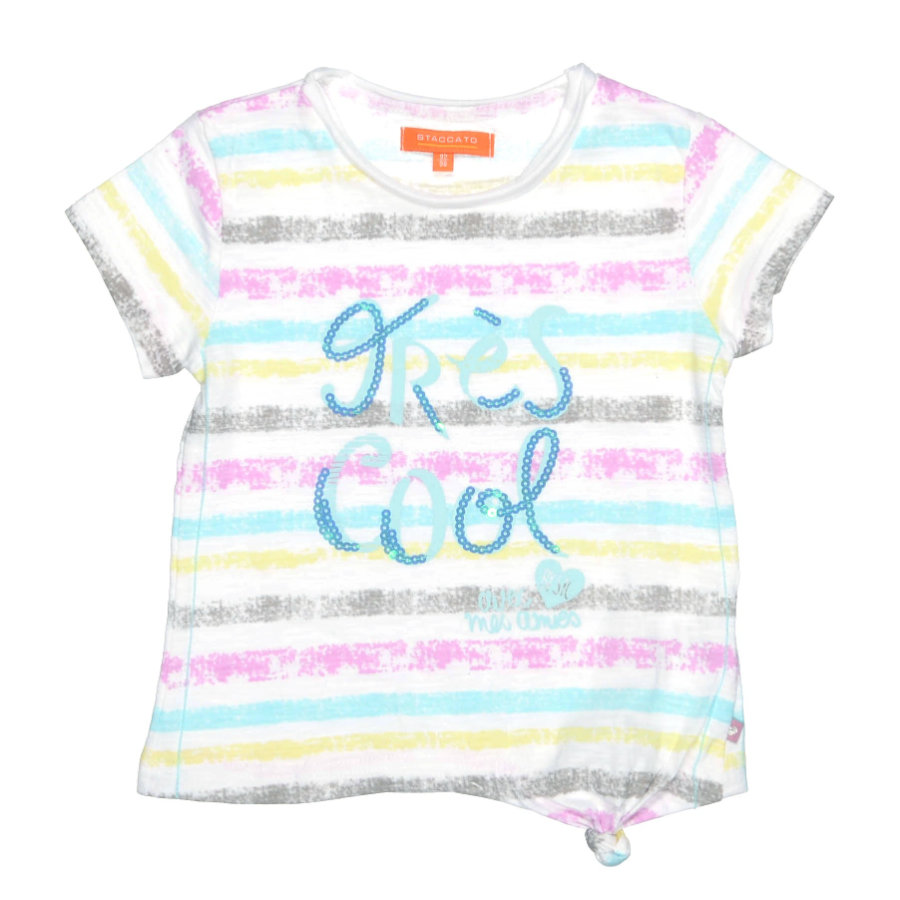 STACCATO Girls Mini Shirt pool streifen
