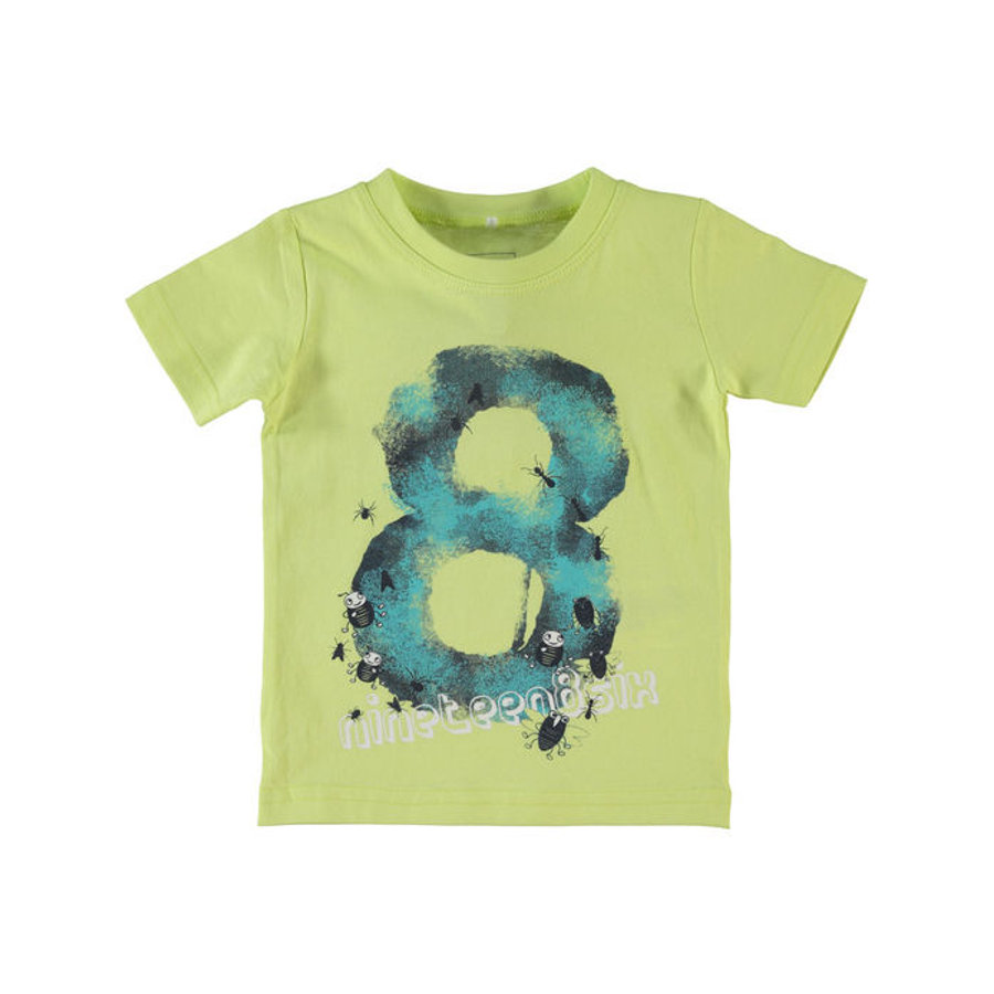 Name it T-Shirt NITVICTOR sunny lime