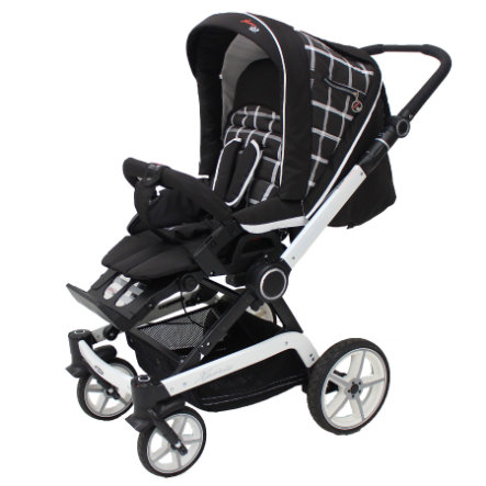 Hartan Kinderwagen Xperia Chocolate/White (919)