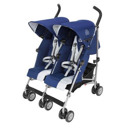 MacLaren Silla de paseo gemelar Triumph Medieval Blue/Silver