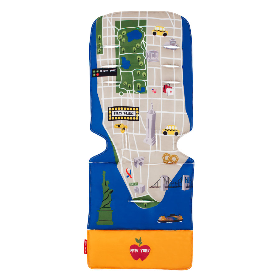 MACLAREN Sitzeinlage Universal New York City Map