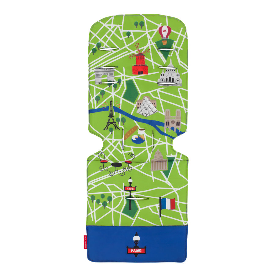 MACLAREN Vložka do kočárku Universal Paris City Map