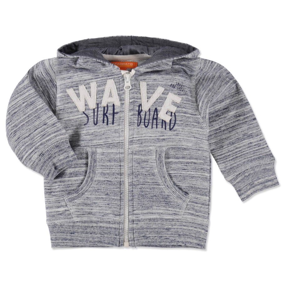 STACCATO Boys Baby Sweatjacke dark blue structure