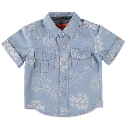 STACCATO Baby Boys overhemd lichtblauw denim aop