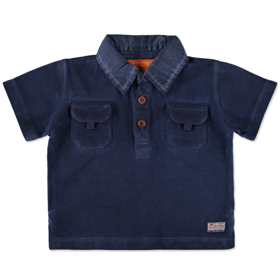 STACCATO Boys Mała koszulka poloszyta w kolorze ciemnoniebieskim.
