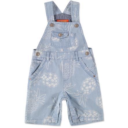 STACCATO Boys Baby Latzbermudas en denim bleu clair