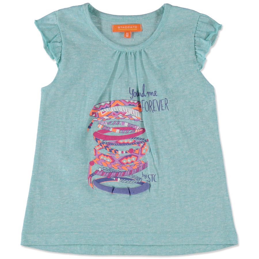 STACCATO Girls Mini Long-Top icegreen