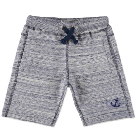 STACCATO Boys Mini Sweat-Bermudas dark blue streifen