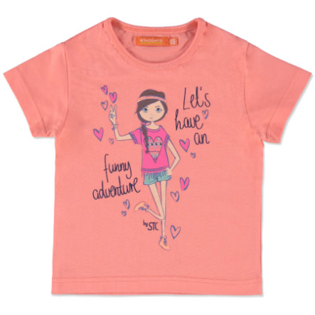 STACCATO Girls Mini T-Shirt mandarin