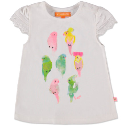 STACCATO Girls Baby T-Shirt weiß