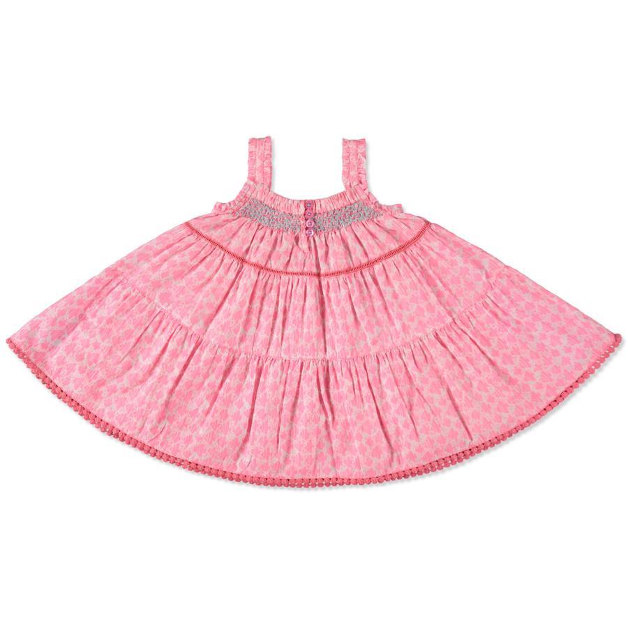 STACCATO Girl s vestido de bebé neón melocotón