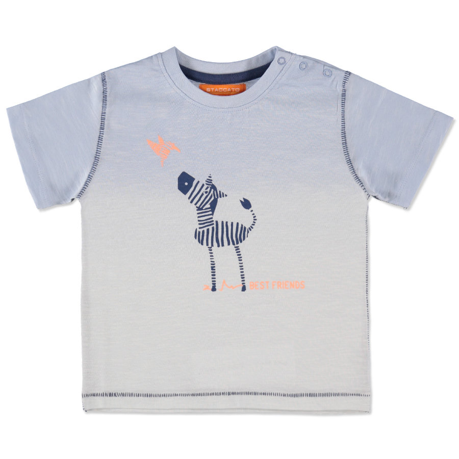 STACCATO Boys Baby T-Shirt light blue melange