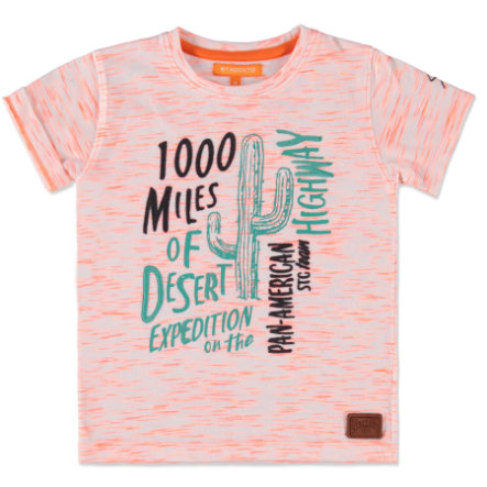 STACCATO Boys Mini T-Shirt neon orange streifen