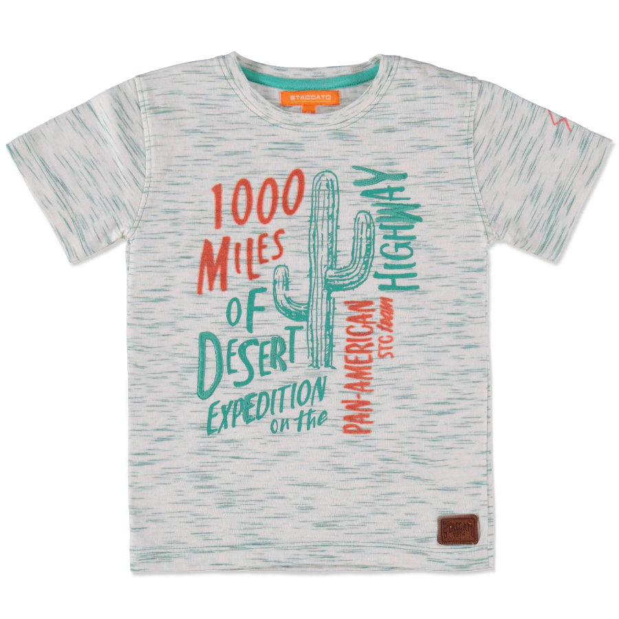 STACCATO Boys Mini T-Shirt green streifen