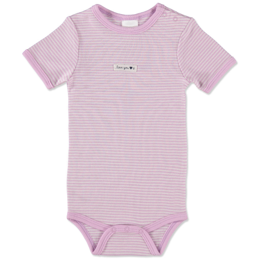 STACCATO Girls Baby Body flieder Streifen