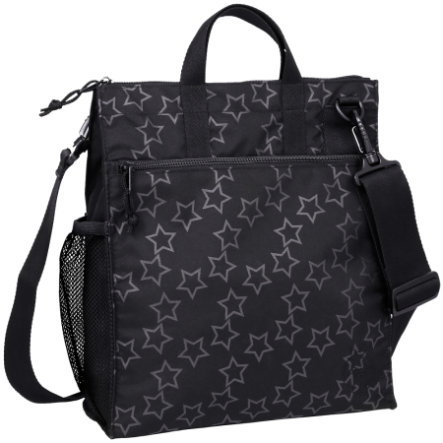 LÄSSIG Borsa fasciatoio - Casual Buggy Bag Reflective Star black