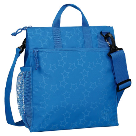 LÄSSIG Wickeltasche Casual Buggy Bag Reflective Star blue