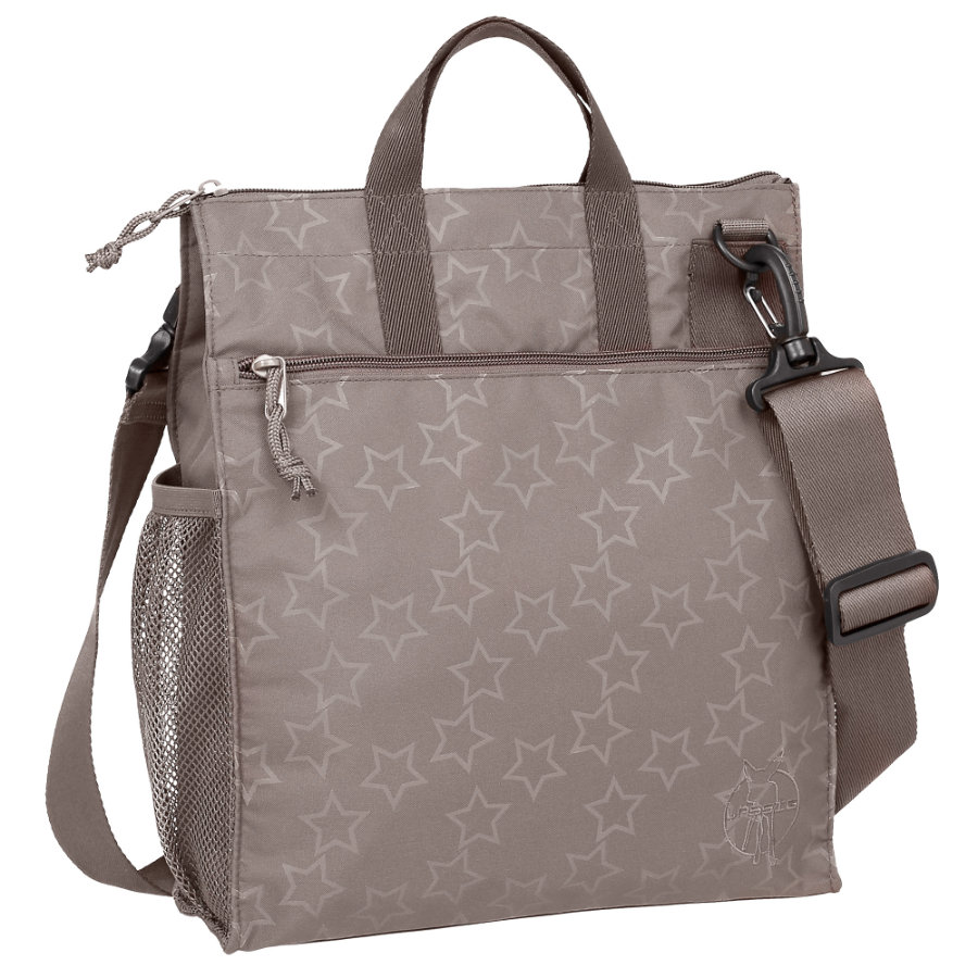 LÄSSIG Wickeltasche Casual Buggy Bag Reflective Star slate