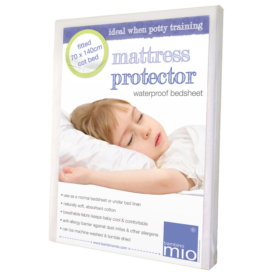BAMBINO MIO Matratzenschutz Kinderbett passgenau 70x140cm