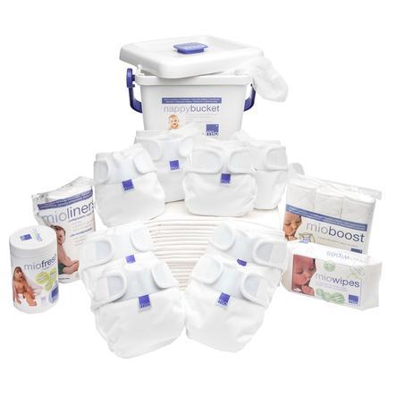 BAMBINO MIO Miosoft Premium Geboorte tot het potje Set wit