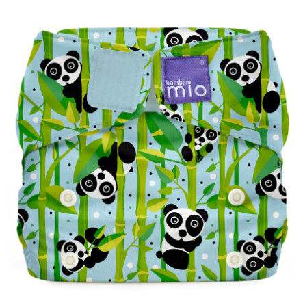 bambino mio Miosolo Tygblöja All-In-One Marshmallow, panda