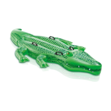 INTEX Nafukovací krokodýl, 203 x 114cm