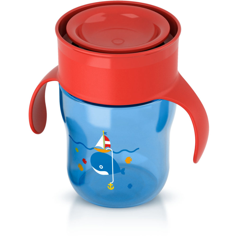 AVENT Tasse d'apprentissage 260 ml bleue