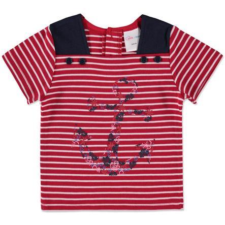 pink or blue Girls T-Shirt rot Streifen