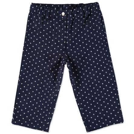 pink or blue Girls Jeans denim Punkte