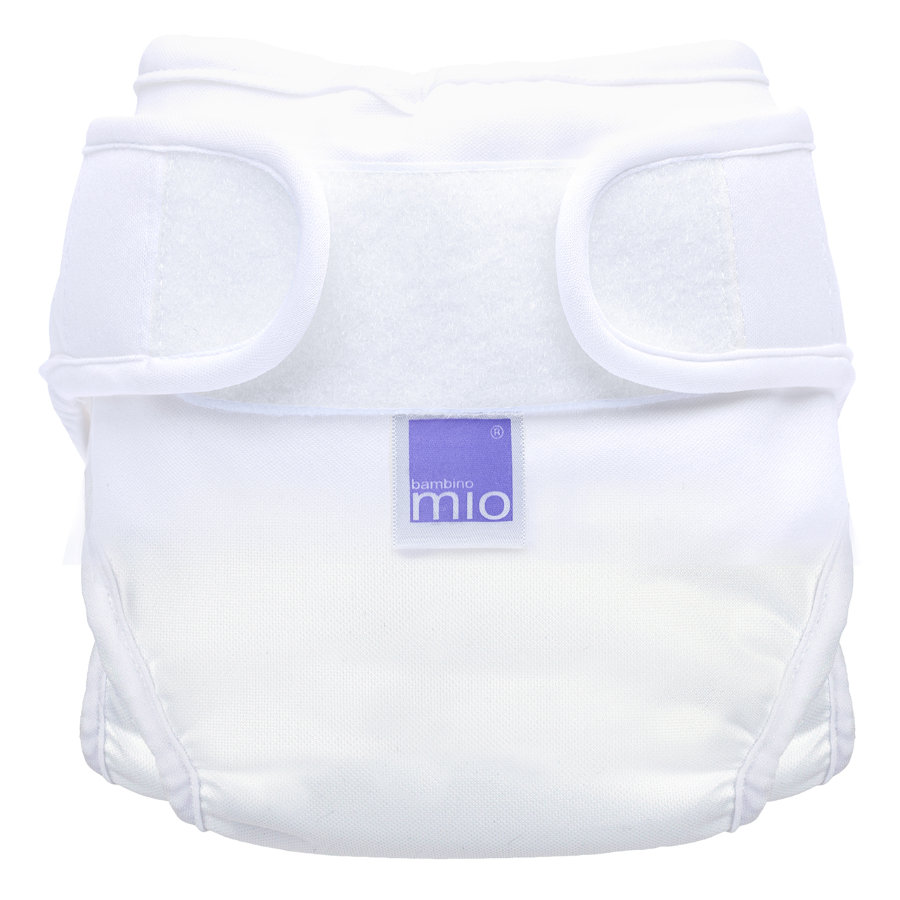 BAMBINO MIO Couches culottes Miosoft, T. 2, +9 kg, blanc