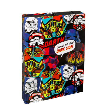 UNDERCOVER Boîte à cahier A4 - Star Wars Patch