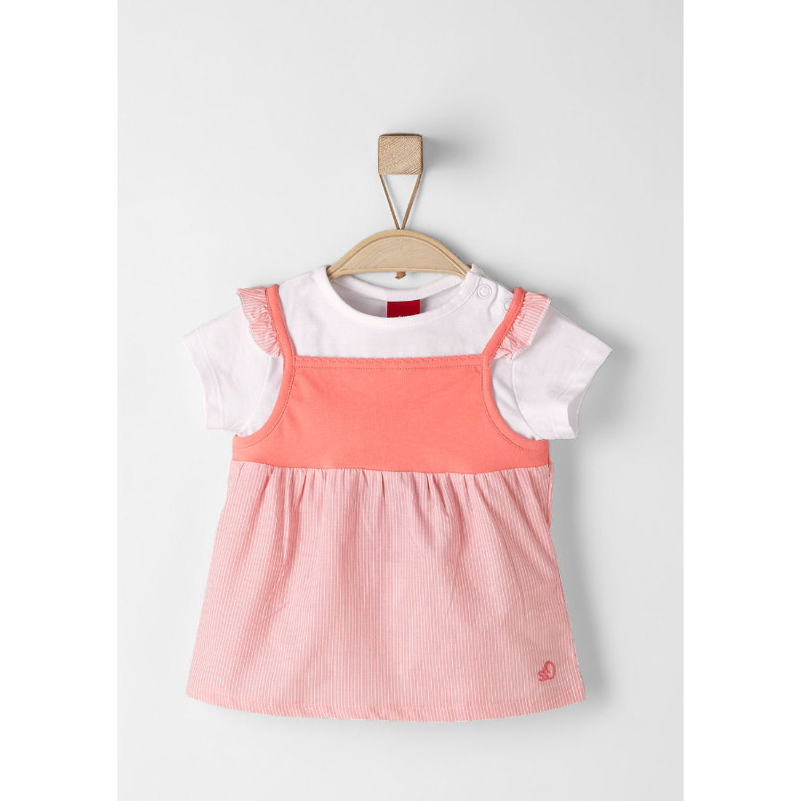 s.Oliver Kids T-Shirt apricot structured