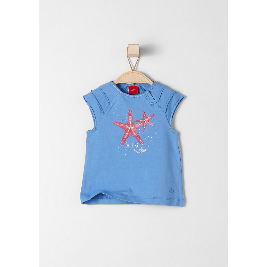 s.Oliver Kids T-Shirt medium blue