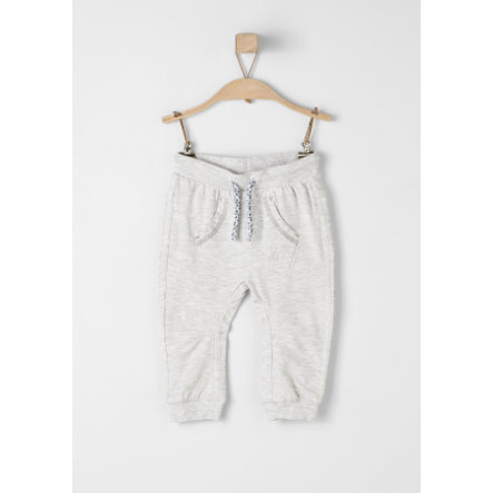 s.Oliver Girls Hose white melange