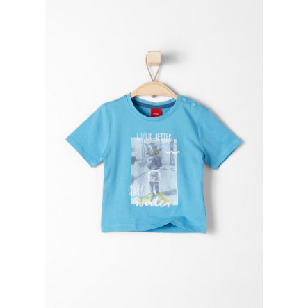 s.Oliver Baby T-Shirt blue