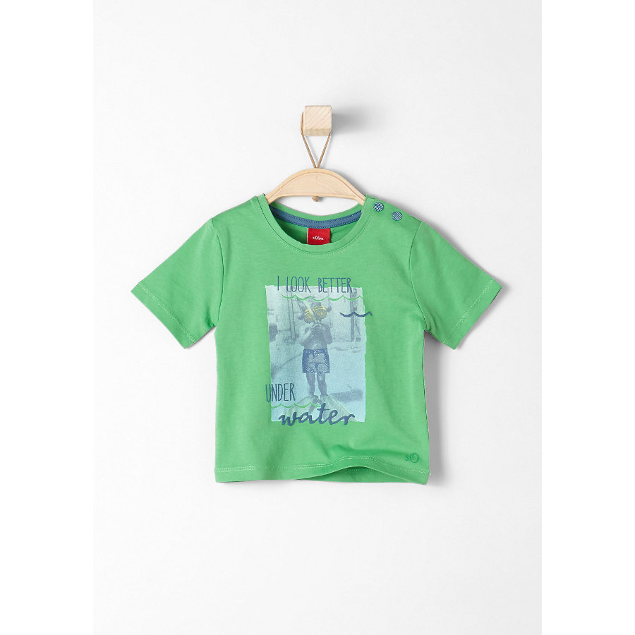 s.Oliver Baby T-Shirt green