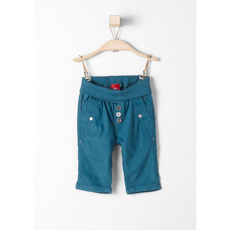 s.Oliver Girl Pantaloni 7/8 benzina