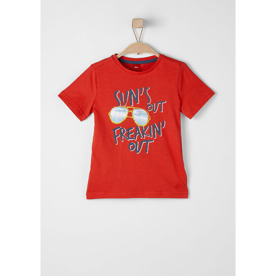 s.Oliver Boys T-Shirt red