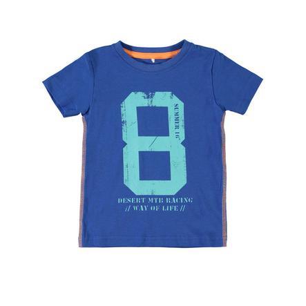 NAME IT Boys Bluzka z krótkim rękawkiem NITVISTUS nautical blue