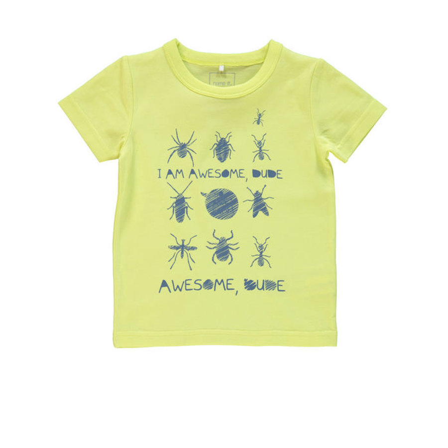 name it Boys T-Shirt NITVUX sunny lime