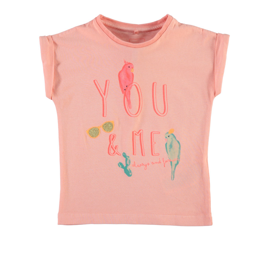 name it Girls T-Shirt NITILOLLY coral cloud