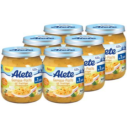 Alete Gemüse-Pasta mit fruchtiger Zitronensauce 6 x 250g
